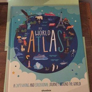 My World Atlas book shoebox NEW as shown in pix
